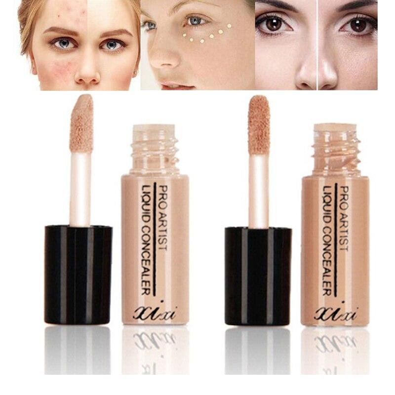Hot Professional Liquid Concealer Makeup Skin Hide Blemish Look Great Block Defect Whitening Lasting Moisture Beauty Concealer