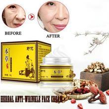цена на NEW Chinese Herb Face Cream Anti Aging Anti Wrinkle Moisturizing Acne Treatment Repair Skin Care Whitening Firming Facial Cream