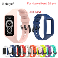 Cinturino sportivo in Silicone per Huawei band 6 pro Smartwatch accessorio cinturino di ricambio per cinturino di integrazione Huawei band 6 nuovo