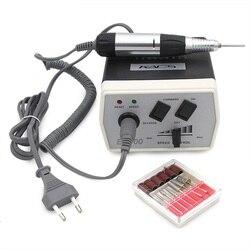 Juego de manicura KADS para manicura, taladro eléctrico de 30000 RPM para uñas, accesorios para Control de velocidad, herramientas para manicura