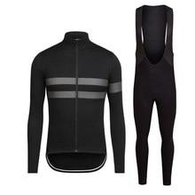 RCC-Ropa de Ciclismo de manga larga para equipo profesional, transpirable Maillot, ropas para Ciclismo de montaña, 2020