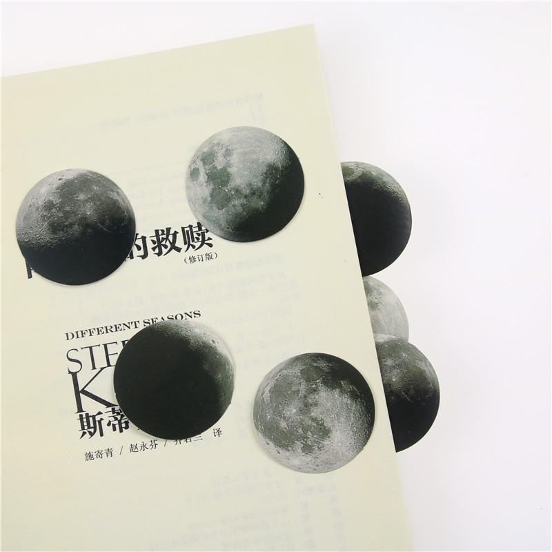 45Pcs//box Creative Moon Cute Mini Paper Sticker Diary Scrapbooking Label Sticker