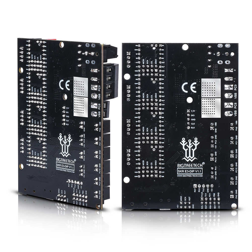BIGTREETECH SKR E3 DIP V1.1 32bit, tablero de Control, piezas de impresora 3D TMC2208 TMC2130 spi VS Cheetah v1.2 a mini E3 para Ender-3 PRO