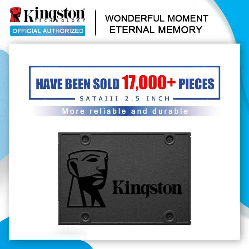 Kingston disco rígido interno a400 ssd, hard drive 120gb 240gb 480gb de 2.5 polegadas sata iii hdd hd ssd notebook pc 960gb