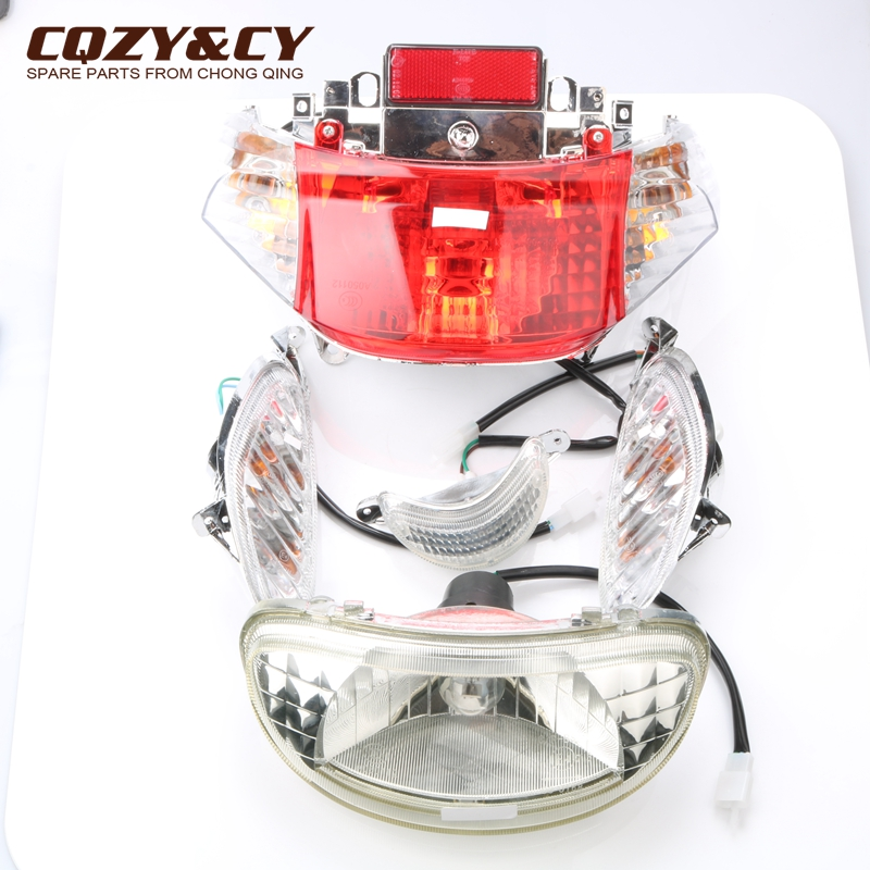 Scooter Headlights & Taillights & Turn Signals & Decorative Lights For Peugeot V-Clic 50cc