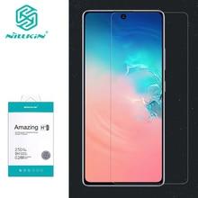 Nillkin Protector de pantalla de cristal templado para Samsung Galaxy S10 Lite, cristal transparente H/H + Pro para Samsung S10 Lite