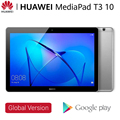 Планшетный HUAWEI Mediapad T3 10, 32 ГБ айпад, планшет huawei IPS дисплей 9,6 дюйма, четырехъядерный процессор Qualcomm, аккумулятор 4800 мАч, установлено Google Play,...