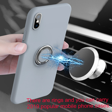 Luxury Magnetic Bracket phone Case For Huawei P30 P20 Mate 20 Lite Honor Cover Transparent Car Holder Stand Finger Ring shell