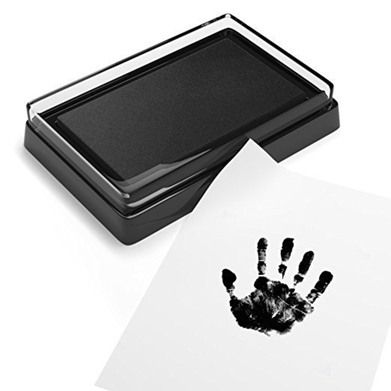 Baby Handprint Footprint Non-Toxic Newborn Imprint Hand Inkpad Watermark Infant Souvenirs Casting Clay Toy Gift Infant Footprint