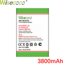 Wisecoco C8 3800mAh Battery For Oukitel 5.5 inch Phone Lastest Production New Replacement With Tracking Number