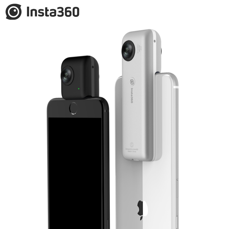 Clearance SaleInsta360 Video Panoramic-Camera Photos Nano iPhone 4k 360 for X Xs-Xr 20MP VR 6-Series