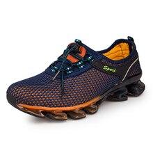 Sneakers men 2020 mesh breathable shoes running buffer large 44-48 unisex sneake