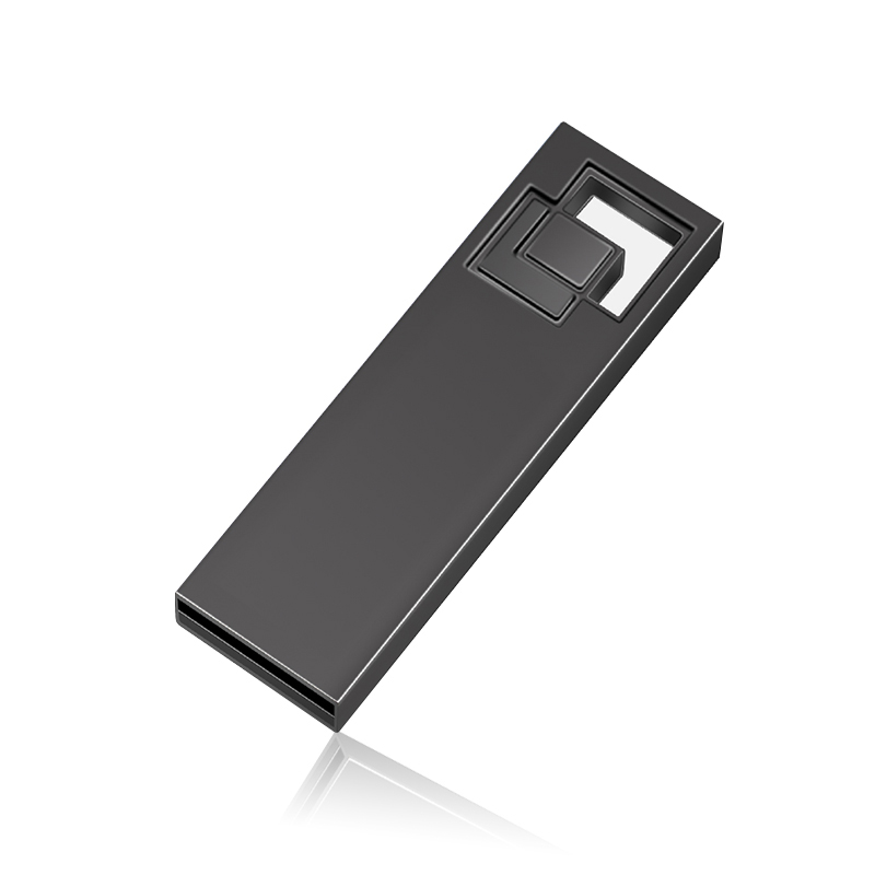Fashion USB Flash Drive 4 GB 8GB 16GB Pendrive 16GB 32GB 64GB Pen Drive Metal Memory Stick Portable U Disk Gift With Key Ring