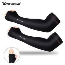 West biking ледяная ткань рукава для бега Защита от ультрафиолетовых