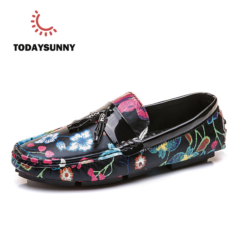 Men Casual Shoes Male Loafers Summer Moccasins Driving Shoes Colorful Flats Camouflage Breathable British Style Zapatos Hombre