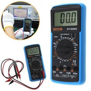 Image 1 - DT9205A Handheld Digital Multimeter LCD AC DC Automatic Range Power Multimeter Ammeter Ohmmeter Resistance Capacitance Meter