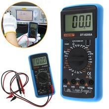 DT9205A Palmare Multimetro Digitale LCD AC DC di Potenza Gamma Automatico Multimetro Amperometro Ohmmeter Misuratore di Capacità di Resistenza