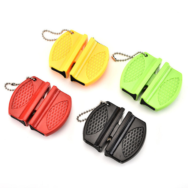 Camping Equipment Pocket Knife Sharpener Tool Ceramic Rod Tungsten Steel Outdoor Accessories Damascus Knives Kitchen Knives 5