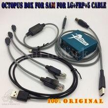 Gsmjustoncct boîte pieuvre/boîtier octoplus + frp activé + entièrement activé pour LG pour Sam + 5 câbles dont câble optimus