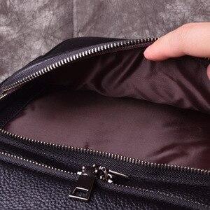 Image 5 - AETOONew mode sacs à dos en cuir véritable de haute qualité en cuir véritable homme coréen étudiant sac à dos garçon sacoche pour ordinateur portable professionnel