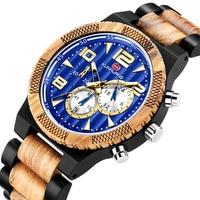 Best Seller Wood Watch Men Sport Chronograph Business Wrist Watch Luxury Quartz Watch Personalized Watches For Man часы мужские