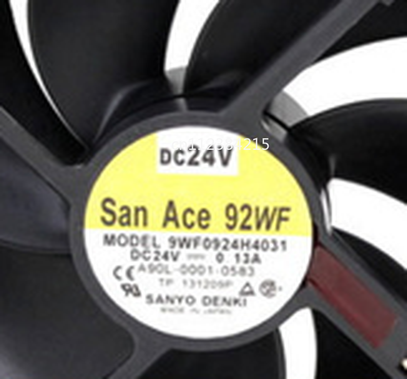 Free Shipping For Sanyo 9WF0924H4031 9025 24V 0.13A Waterproof Fan