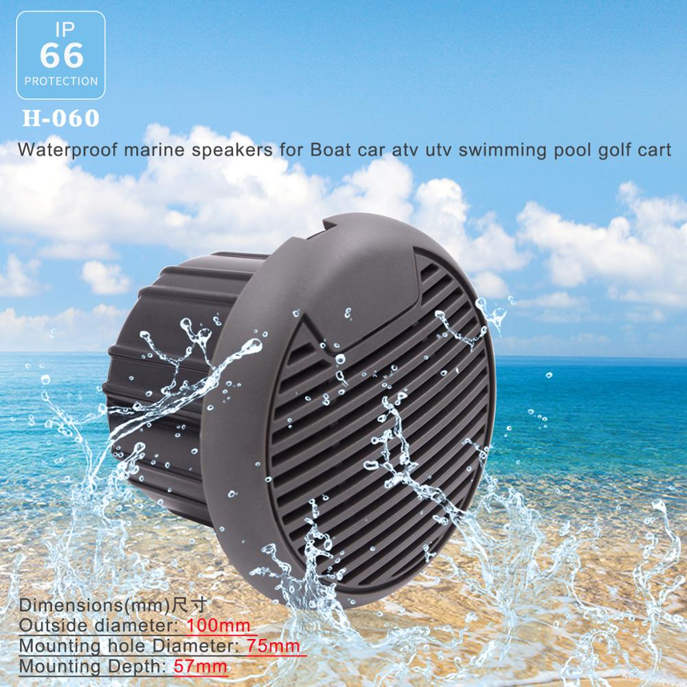 Guzare High-quality Waterproof Robust Durable Speakers For Car ATV Tractor Boat Water Resistant Speaker Sound System