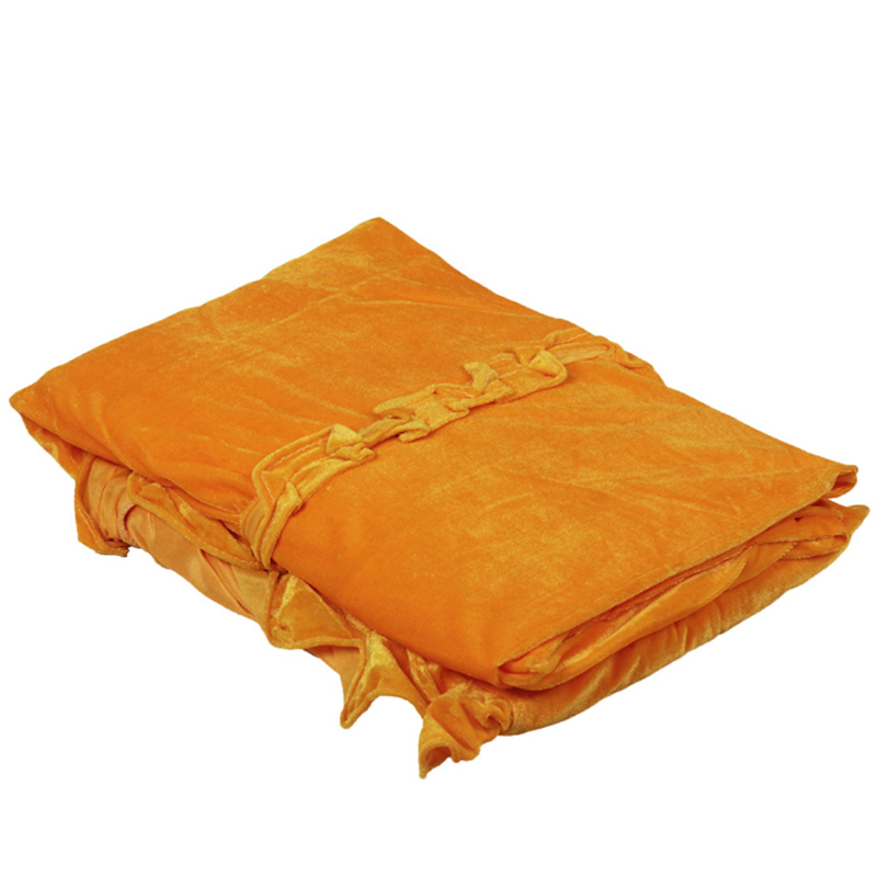 Gold Velvet Piano Cover Cloth Dustproof Piano Cover Piano Protector - Yellow, As Described