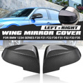 1 пара черная углеродная крышка зеркала крыла для BMW 1 Серия 2 серии 3 серии 4 серии F20 F21 F22 F30 F31 F32 F33 F35 F36 X3