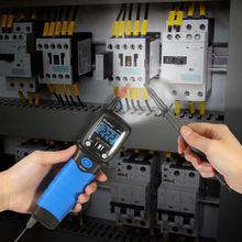Bolígrafo de mano de tipo Digital multímetro de DC/AC medidor de tensión de resistencia Analizador de continuidad de diodo de retroiluminación LCD
