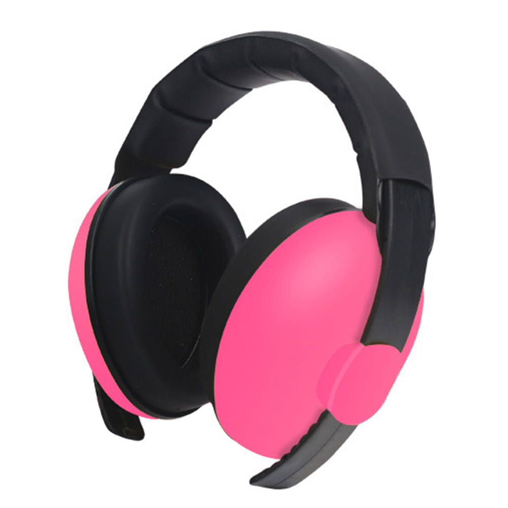 Ergonomic Baby Earmuffs Ear Hearing Protection Kids Slow Rebound Boys Girls Light Weight Safety Sleep Noise Cancelling Sound