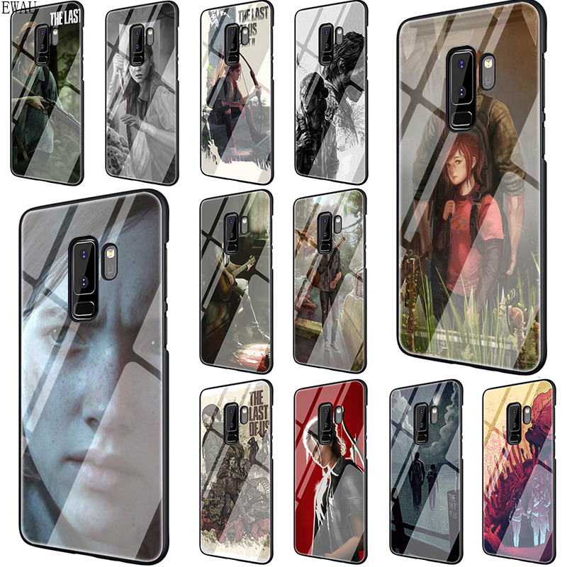 EWAU The Last Of Us Tempered Glass phone case for Samsung S7 Edge S8 S9 S10 Note 8 9 10 plus A10 20 30 <font><b>40</b></font> <font><b>50</b></font> <font><b>60</b></font> 70 image