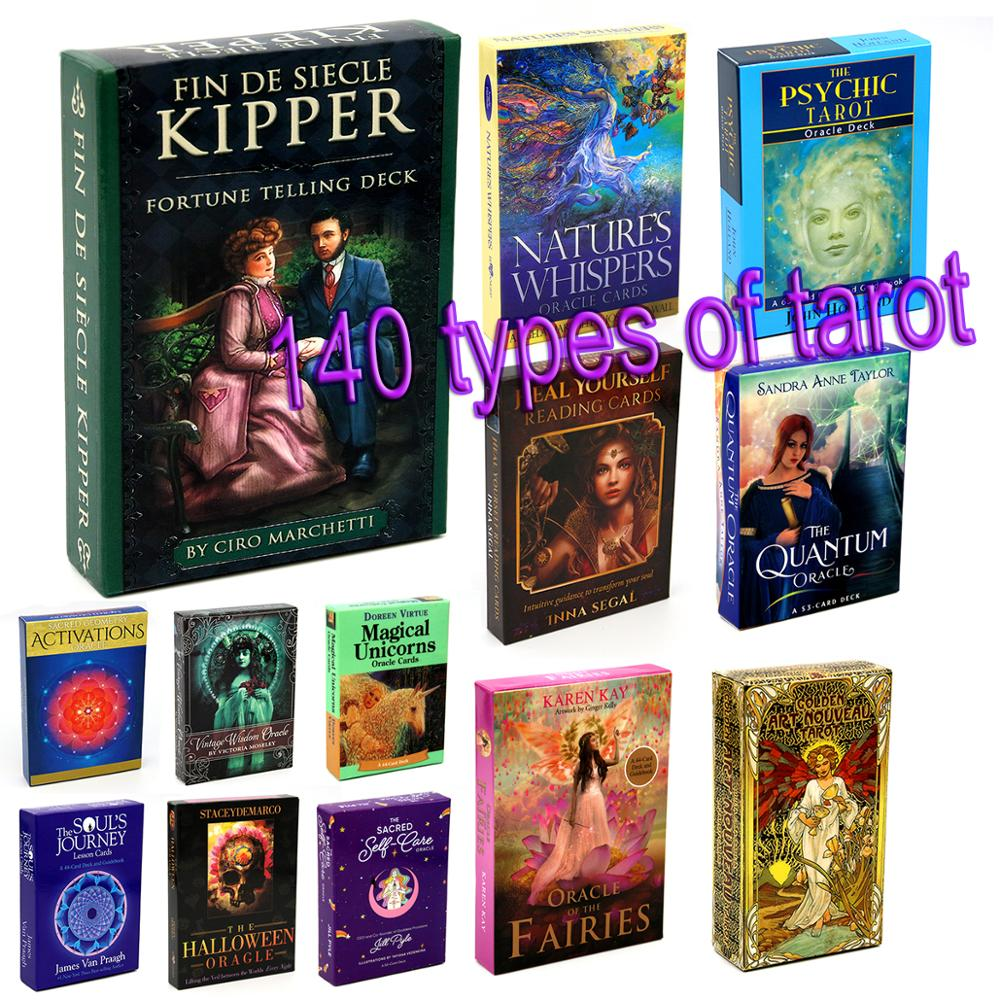 Golden Art Nouveau Tarot Deck 78 Cards Sacred Traveler Oracle Loving Words From Jesus Fairies Quantum Butterfly Sacred Self-Care