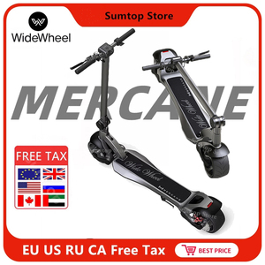 EU Stock 2020 Mercane WideWheel 48V 500W /1000W Kickscooter Smart Electric Scooter Wide Wheel 45KM/H Dual Motor Skate Hoverboard|Electric Scooters| |  -