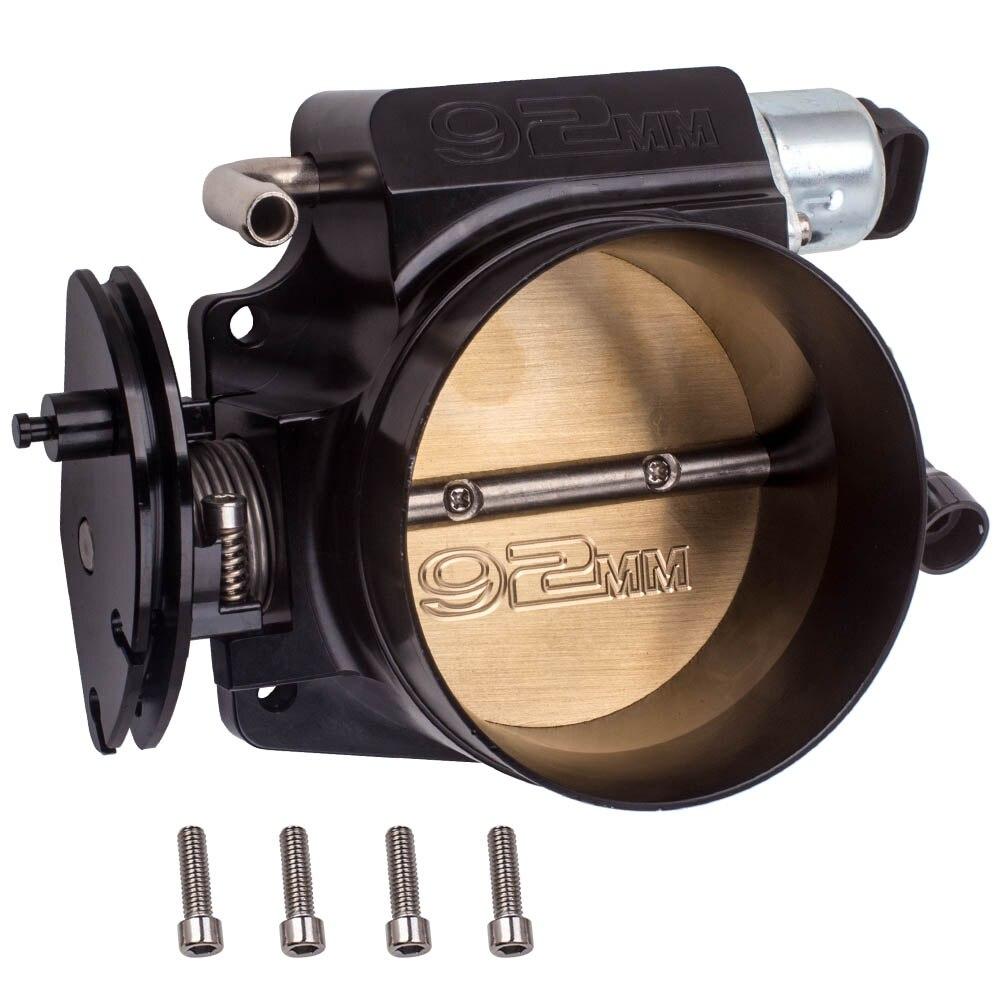 92mm Aluminum Intake Manifold Throttle Body TPS+IAC For GM LS1 LS2 LS3 LS6 LSX