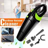Aspirador de pó para casa carro 220 v mini aspirador de pó sem fio mão coletor seco molhado aspirador de carro