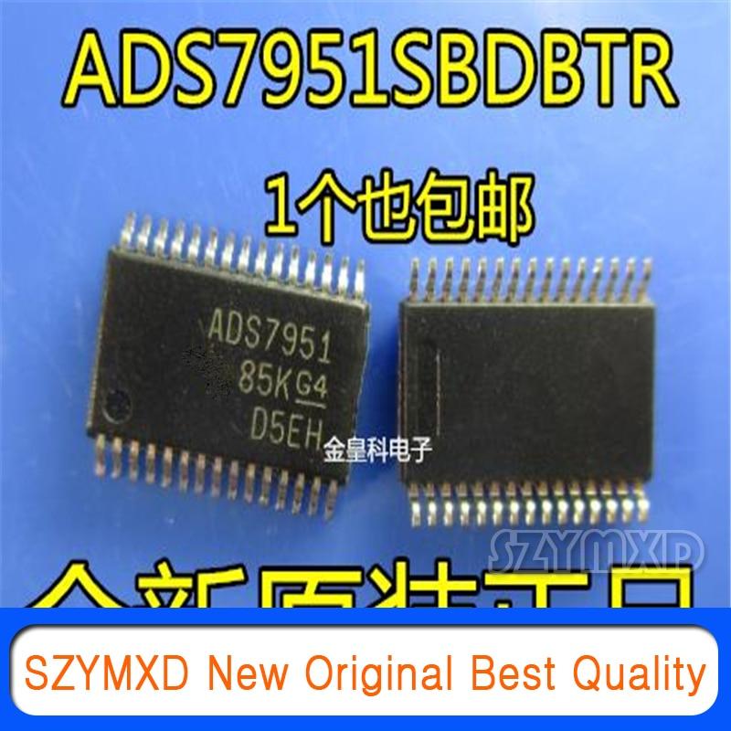 1 шт./лот новый оригинальный ADS7951SBDBTR ADS7951 TSSOP30 12-разрядный цифро-аналоговый преобразователь SPI интерфейс передачи данных несимметричный чип