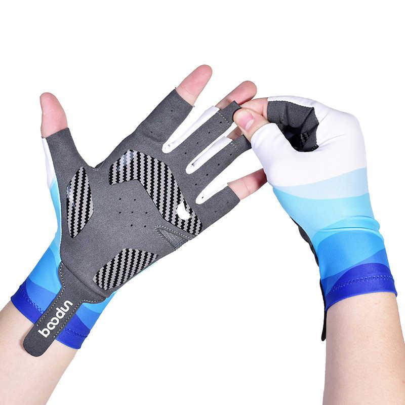 Men Women Non-Slip Half-Finger Gloves Riding Glove Outdoor Sports Fishing Gloves