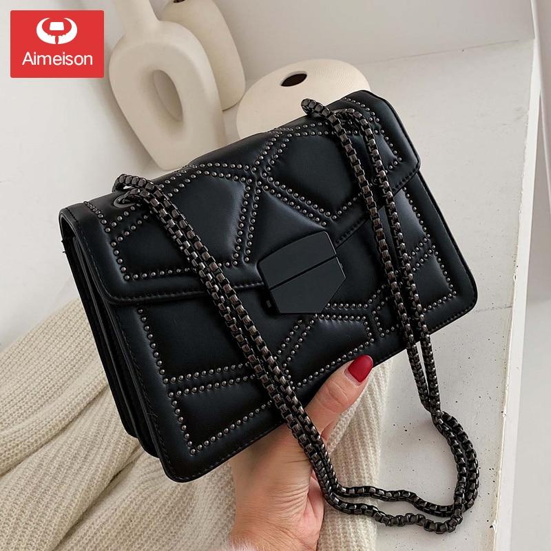 Ladies Luxury Fashion Handbag Stone Pattern Multi-Style Diamond Chain Small Crossbody Bag Ms. Wallet Shoulder Crossbody Bag