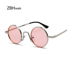 Brand Round Sunglasses Women Unisex Retro Vintage Design Sma