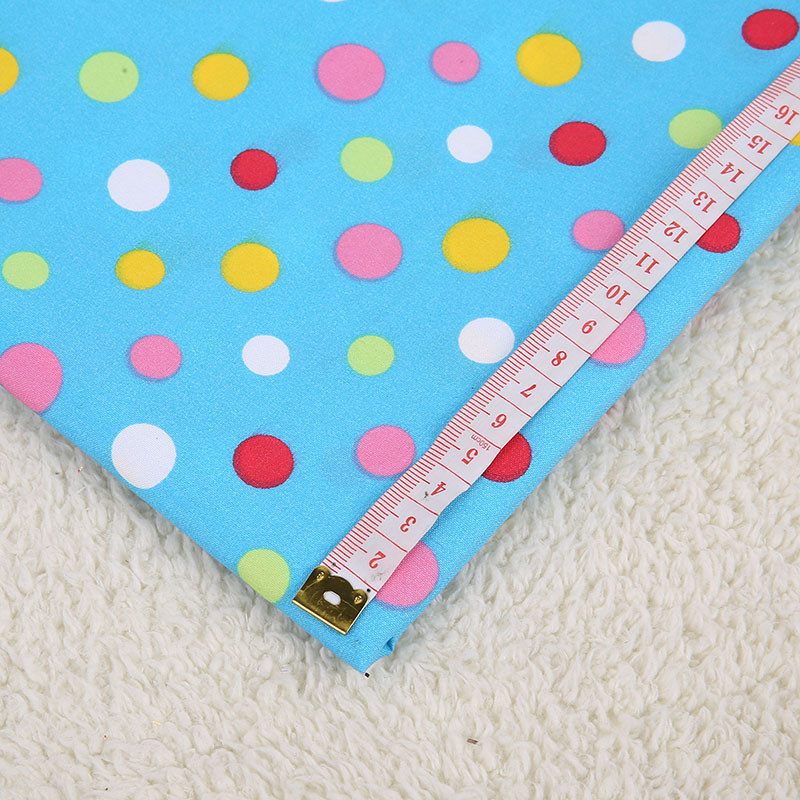 150*100cm Cotton/Polyester Fabric Color Dot Fabric For DIY Bedding handwork tablecloth quilting patchwork craft BL-11-2 image