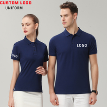 Custom Your Company Logo Embroidered Mens Polo Shirt