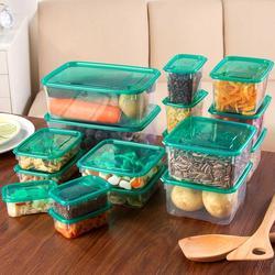 17 sztuk pojemnik do przechowywania żywności lodówka organizator ziarna fasoli pudełko do przechowywania żywności pojemniki kuchenne wyczyść zamknięte etui
