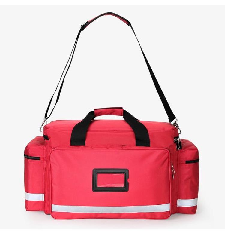 Outdoor First Aid Medical Bag Isolation Multi-pocket Large Storage Portable Cross Emergency Medical Bag Sports Travel Nylon Bag (6)