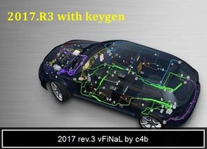 Image 1 - Yeni VD TCS 2017.3 2017R3 yazılımı dvd CD ücretsiz Keygen delphis 2017.1 araba ve kamyonlar
