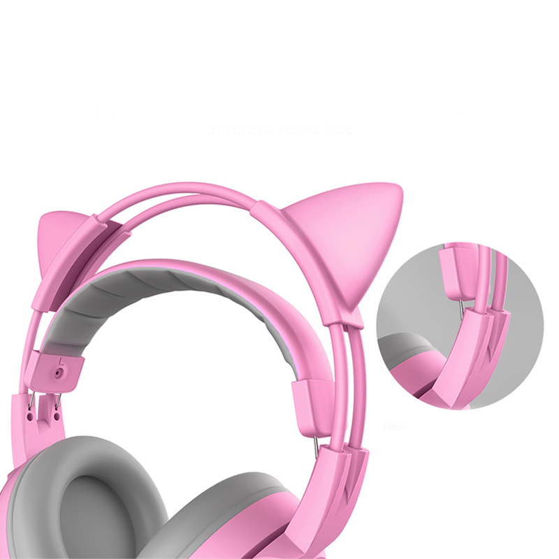 Image 5 - SOMIC G951S Pink Cat Headphones Noise Cancelling Wired Gaming 