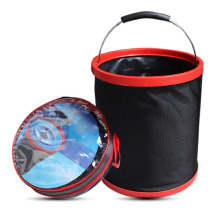 Portable Folding Bucket Car Trash Can Outdoor Camping Fishing Water Storage Container Tools