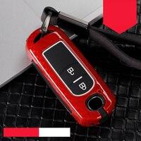 Wear resistant Zinc alloy+silica gel Car Remote Key protect Case For Mazda 236Axela Atenza CX-5 CX5 CX-7 CX-9 2014~17 Auto Shell