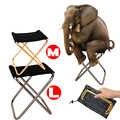 Складной стул для рыбалки,складной стульчик Легкий стул для пикника, кемпинга, складной алюминиевый тканевый, для улицы, портативный, легко ...
