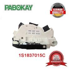 цена на Front left  1S1837015C Door Lock Latch Actuator For VW Amarok Tiguan Skoda Superb II Fabia 5J
